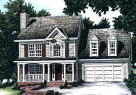 Rose Brooke Estates Bessemer Floorplan