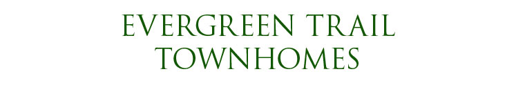 Evergreen Trail Townhomes